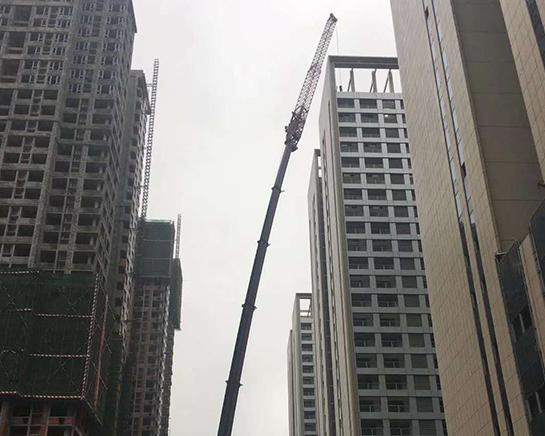 高空楼房拆装塔机作业