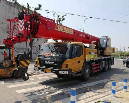35吨吊车租赁